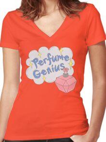 Perfume Genius tee Women's Fitted V-Neck T-Shirt