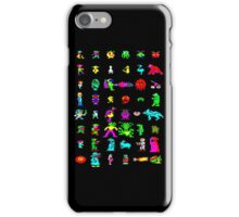 BBC Micro Heroes and Villains iPhone Case/Skin