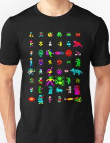 BBC Micro Heroes and Villains T-Shirt