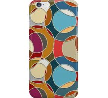 Cool Colorful Circles Pattern iPhone Case/Skin
