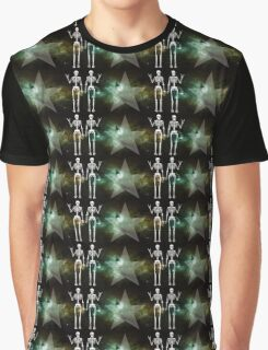Space Skeletons Graphic T-Shirt