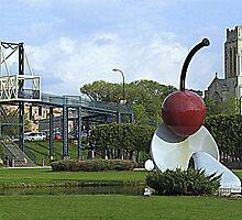 Spoon and Cherry Bridge by Elizabeth  Lilja
