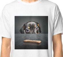 Puppy longing for a treat Classic T-Shirt