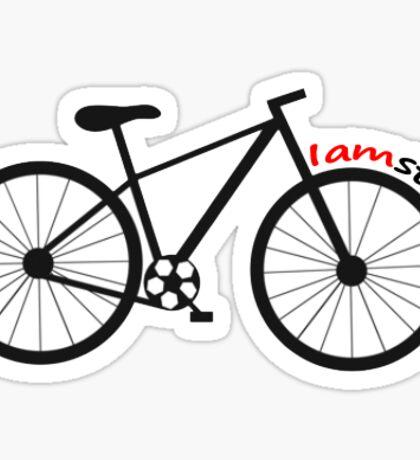 Iamsterdam Bike Sticker