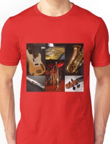 Swing That Music Collage Unisex T-Shirt