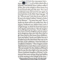 The tale of aragorn and arwen iPhone Case/Skin