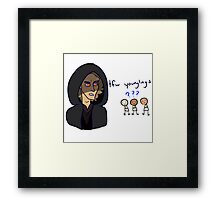 tfw younglings Framed Print