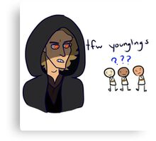 tfw younglings Canvas Print