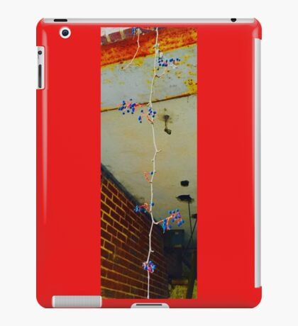 Dangling in the middle of urban decay iPad Case/Skin