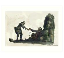Dark Souls - Oscar of Astora Art Print