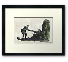 Dark Souls - Oscar of Astora Framed Print