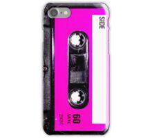 Classic Pink Label Cassette iPhone Case/Skin