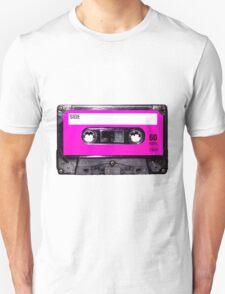 Classic Pink Label Cassette Unisex T-Shirt