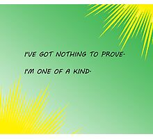 Young Justice Artemis quote Photographic Print