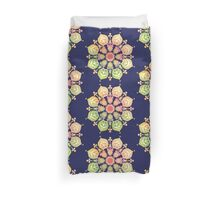 Indigo Flower Duvet Cover