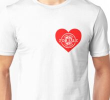 Heart for Sale White version Unisex T-Shirt
