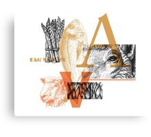 Animals | Vegetables Canvas Print