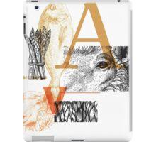 Animals | Vegetables iPad Case/Skin