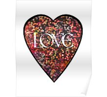 Valentine Vintage Love Heart Poster