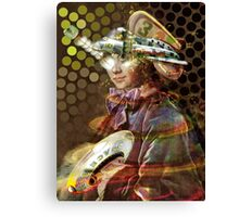 Space Pirate. Collaboration with Andy Nawroski Canvas Print