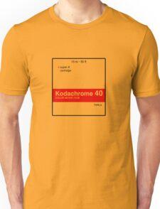 Kodachrome 40 (Type A) Unisex T-Shirt