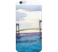 Newport bridge iPhone Case/Skin
