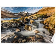 Glyder Fawr Mountains Poster