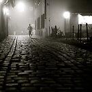 Running at dawn .Cracow Kazimir. Galicia. Andrzej Goszcz, by © Andrzej Goszcz,M.D. Ph.D