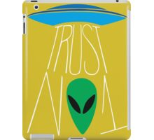 Trust No One - The X-Files iPad Case/Skin