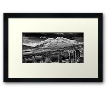 Snowdon Winter Framed Print