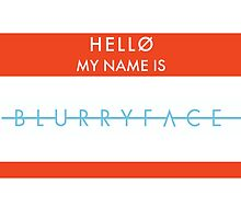 twenty one pilots name tag by Emily Grimaldi