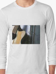 Bass Guitar With Tabs Long Sleeve T-Shirt