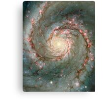 M51, also known as NGC 5194 Canvas Print