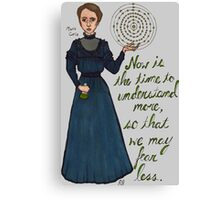 Marie Curie Canvas Print