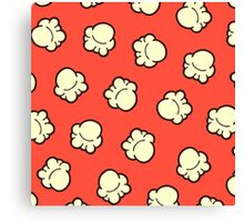 Popcorn Pattern Canvas Print