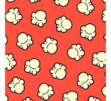 Popcorn Pattern Photographic Print