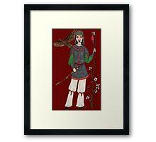 Hua Mulan Framed Print