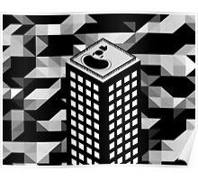Isometric Skyscraper Poster