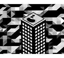 Isometric Skyscraper Photographic Print