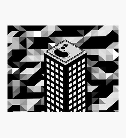 Isometric Skyscraper Photographic Print