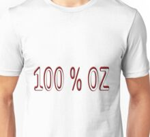 Red 100 percent OZ  T-Shirt