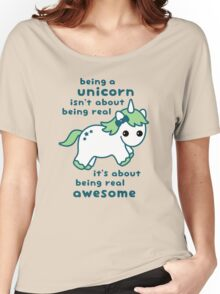 Being a Unicorn Women's Relaxed Fit T-Shirt