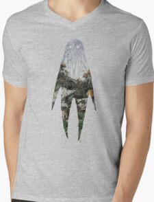 Spirit Silhouette  Mens V-Neck T-Shirt