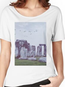 Stonehenge Women's Relaxed Fit T-Shirt