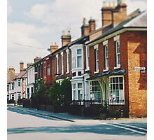 Stratford-upon-Avon Houses Photographic Print