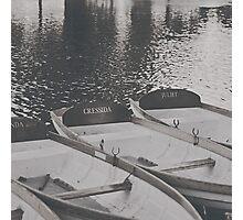 Shakespearean Boats Photographic Print