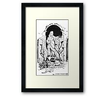 Dark Souls - The Undead Parish Framed Print