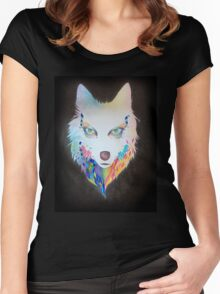 Wolf nebula Women's Fitted Scoop T-Shirt