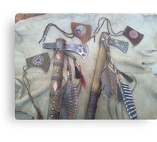 Tomahawks with covers Metal Print