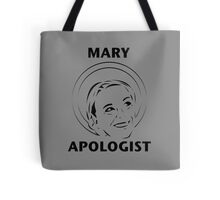 Mary Apologist (w/ halo) Tote Bag